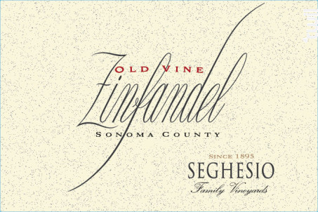 Old Vine - Zinfandel - SEGHESIO - 2015 - Rouge