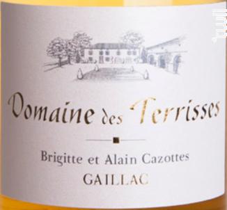 Grande Tradition - Domaine des Terrisses - 2012 - Blanc