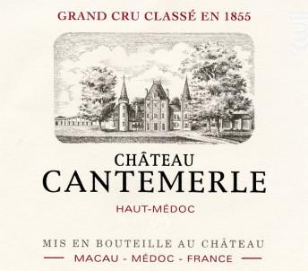 Château Cantemerle - Château Cantemerle - 2012 - Rouge