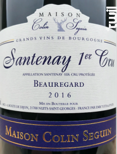 Santenay 1er Cru