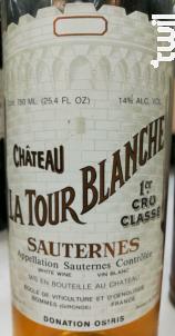 Château La Tour Blanche - Château La Tour Blanche - 2006 - Blanc