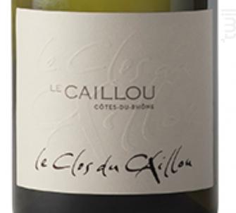 Le Caillou - Clos du Caillou - 2013 - Blanc