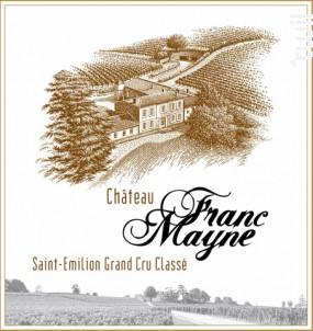 Château Franc Mayne - Château Franc Mayne - 2015 - Rouge