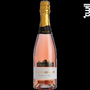 Crémant Giersberger Pinot Noir (rosé) - Cave de Ribeauvillé - Non millésimé - Effervescent