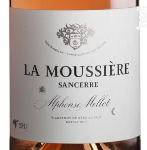 La Moussière - Alphonse Mellot - 2018 - Rosé