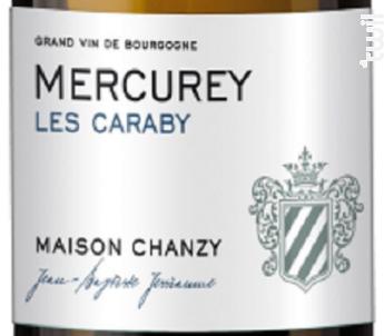 MERCUREY Blanc - Maison Chanzy - 2015 - Blanc