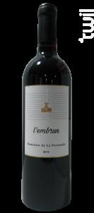 L'Embrun - Domaine de La Pertuade - 2016 - Rouge