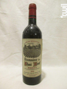 Domaine Du Chai Neuf - Domaine du Chai Neuf - 1993 - Rouge