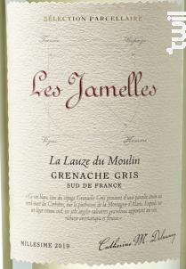 Grenache Gris La Lauze du Moulin - Les Jamelles - 2019 - Blanc