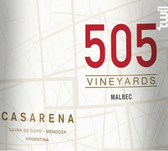 505 - MALBEC - Casarena - 2019 - Rouge