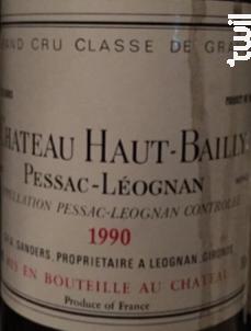 Château Haut-Bailly - Château Haut-Bailly - 1989 - Rouge