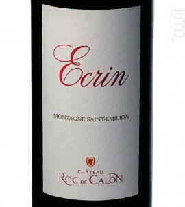 Écrin du Château Roc de Calon - Château Roc de Calon - 2012 - Rouge