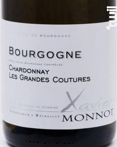 BOURGOGNE Chardonnay Les Grandes Coutures - Domaine Xavier Monnot - 2016 - Blanc