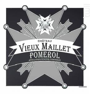 Château Vieux Maillet - Château Vieux Maillet - 2009 - Rouge