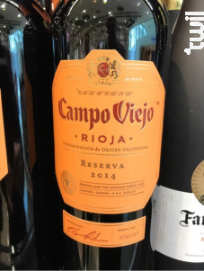 Campo Viejo Rioja Reserva - Campo Viejo - 2000 - Rouge