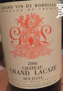 Château Grand Lacaze - Château Grand Lacaze - 2016 - Rouge
