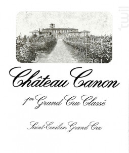 Château Canon - Château Canon - 2008 - Rouge