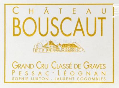 Château Bouscaut - Château Bouscaut - 2015 - Rouge