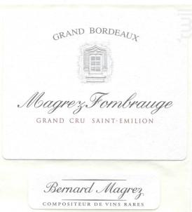 Château Magrez Fombrauge - Château Fombrauge - 2016 - Rouge