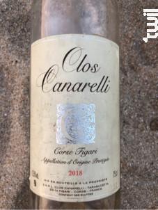 Clos Canarelli - Clos Canarelli - Yves Canarelli - 2019 - Rosé
