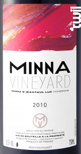 Minna - VILLA MINNA VINEYARD - 2010 - Rouge