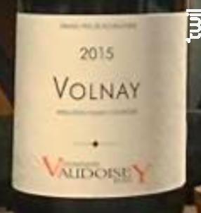 Volnay - Jean Vaudoisey-Berget - 2015 - Rouge