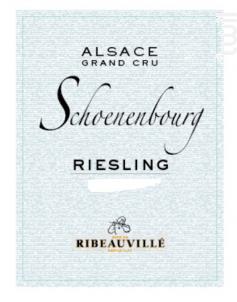 Riesling Grand Cru Schoenenbourg - Cave de Ribeauvillé - 2014 - Blanc