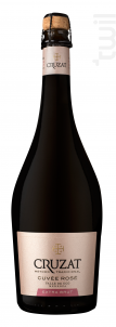 Cuvée Rosé Extra Brut - Cruzat - Non millésimé - Effervescent