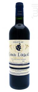 Château Chante l'Oiseau - Château Méric et Chante l'oiseau - 2015 - Rouge