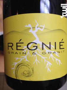 Grain et Granit - Charly Thévenet - 2017 - Rouge