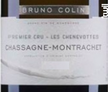 Chassagne-Montrachet Premier Cru Les Chenevottes