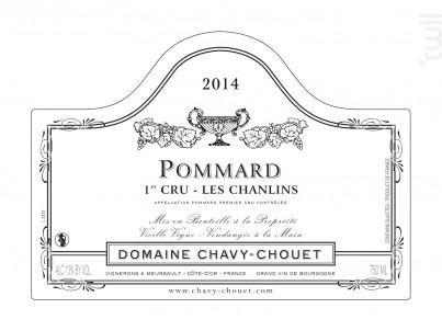 Pommard Premier Cru Les Chanlins - Domaine Chavy-Chouet - 2017 - Rouge