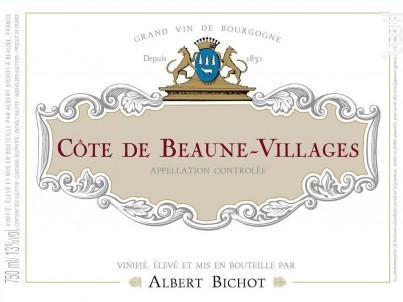 Côte de Beaune-Villages - Albert Bichot - 2018 - Rouge