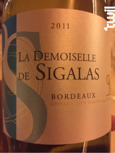 La Demoiselle de Sigalas - Château Sigalas Rabaud - 2014 - Blanc