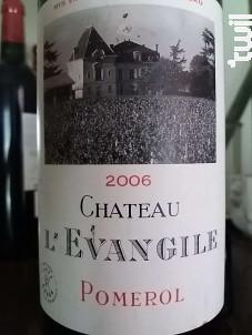 Château l'Evangile - Domaines Barons de Rothschild - Château L'Evangile - 2006 - Rouge