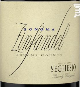 Sonoma- zinfandel - SEGHESIO - 2016 - Rouge