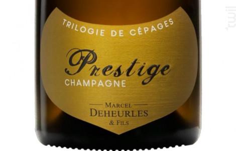 Prestige - Trilogie de Cépages - Champagne Marcel Deheurles et Fils - Non millésimé - Effervescent