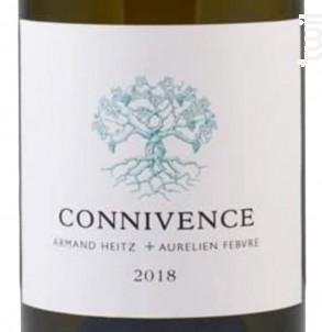 Connivence Armand Heitz + Aurélien Febvre - Domaine Heitz Lochardet - 2018 - Blanc