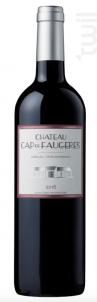 Château Cap de Faugères - CHATEAU CAP DE FAUGERES - 2015 - Rouge