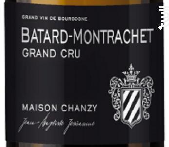 BATARD MONTRACHET Grand Cru - Maison Chanzy - 2013 - Blanc