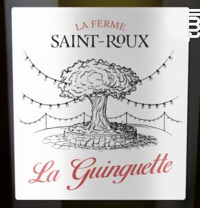 La Guinguette - Brut - Château Saint-Roux - Non millésimé - Effervescent