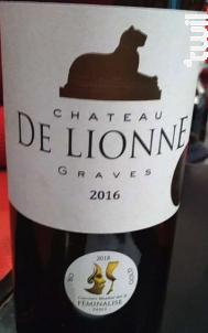Château de Lionne - Château de Lionne - 2016 - Rouge