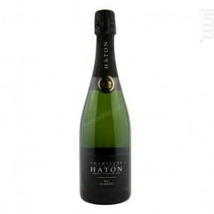 Champagne Haton - Brut Classic 0.75l - Champagne Haton et Fils - Non millésimé - Effervescent