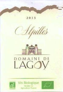 ALPILLES - Domaine de Lagoy - 2019 - Rosé