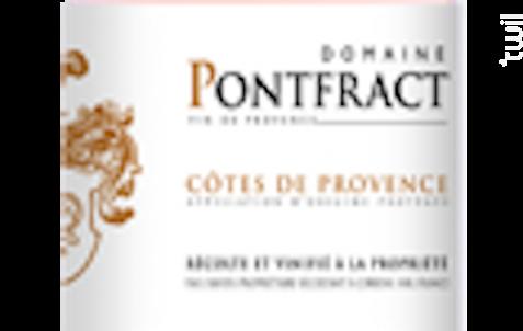 Côtes de Provence - Domaine de Pontfract - Vins Breban - 2016 - Rosé