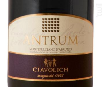 Antrum - Ciavolich - 2010 - Rouge
