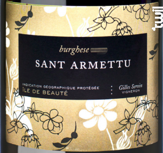 Burghese Blanc - Domaine Sant Armettu - 2017 - Blanc