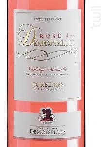 Rosé des Demoiselles - Cellier des Demoiselles - 2018 - Rosé