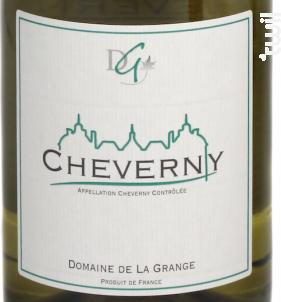 Cheverny - Domaine de La Grange - 2016 - Blanc