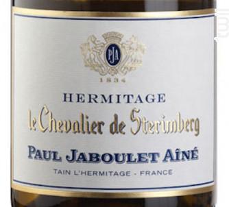 Le Chevalier de Stérimberg - Paul Jaboulet Aîné - 2015 - Blanc